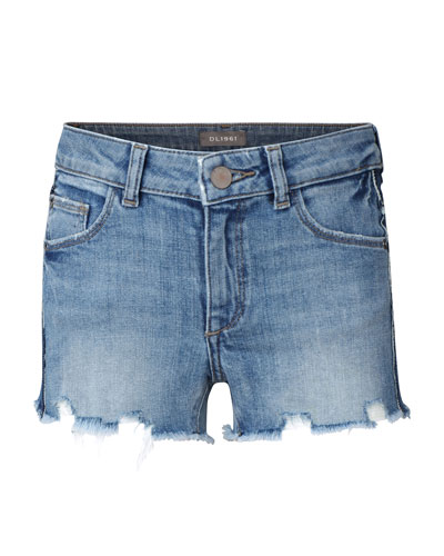 Girls' Lucy Cut Off Denim Shorts  Size 7-18