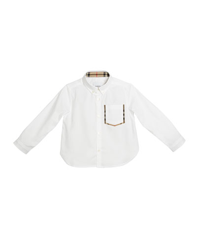 fbc0bf90dd9 Burberry Kids  Collection   Shirts   Dresses at Bergdorf Goodman