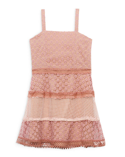 Kristen Multi Lace Dress  Size 8-16