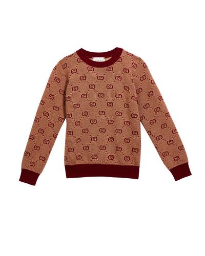 Boy's GG Knit Sweater  Size 4-12