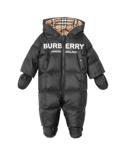 136a4737d Skylar Quilted Logo Snowsuit Size 6-18 Months Quick Look. Burberry