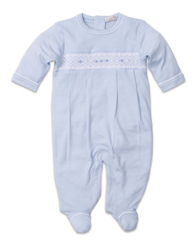 ce8c5d3a1 CLB Fall Smocked Pima Footie Playsuit Size Newborn-9 Months Quick Look. Kissy  Kissy