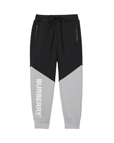 4f3286fb1 Ashley Two-Tone Neoprene Logo Joggers Size 3-14 Quick Look. Burberry