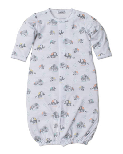 fbe72d373 Elephant Hugs Printed Convertible Sleep Gown Size Newborn-Small Quick Look. Kissy  Kissy