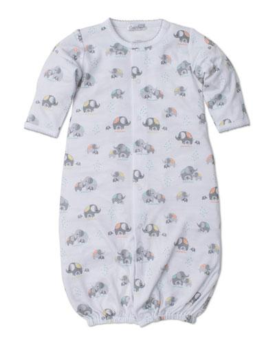 a8581d6bd Elephant Hugs Printed Convertible Sleep Gown Size Newborn-Small Quick Look. Kissy  Kissy