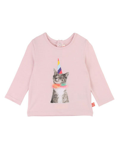 Party Cat Graphic Tee  Size 12M-3