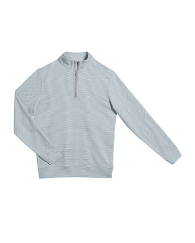 Boy's Perth Quarter-Zip Sweater  Size XS-XL