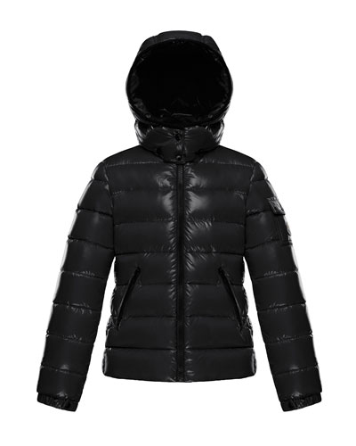 Quilted Hooded Puffer Jacket  Size 4-6