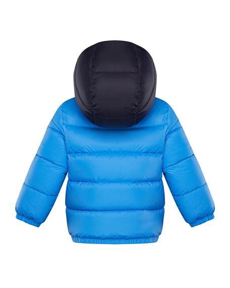 Perols Quilted Hooded Puffer Jacket, Size 12M-3