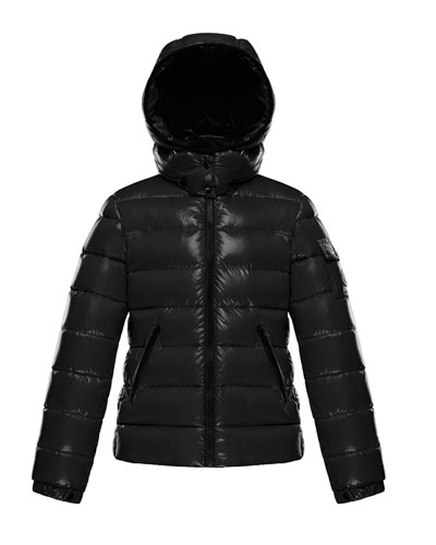 Quilted Hooded Puffer Jacket  Size 8-14
