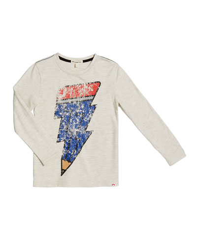 Creative Spark Graphic Tee  Size 2-10