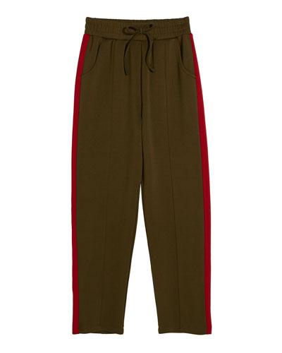 Lennon Tricot Drawstring Active Pants  Size 7-14