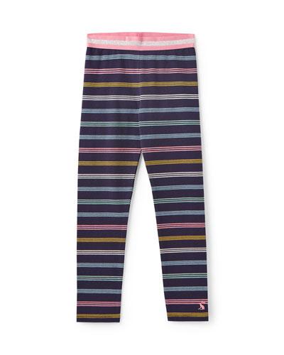 Glitzy Multi-Stripe Leggings  Size 3-12