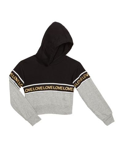 Love Two-Tone Hoodie  Size S-XL