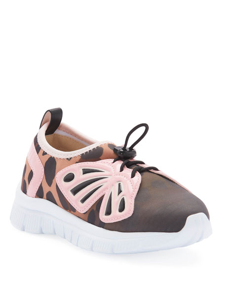Fly-By Gradient Scuba Mesh Butterfly-Wing Sneakers, Baby/Toddler/Kids