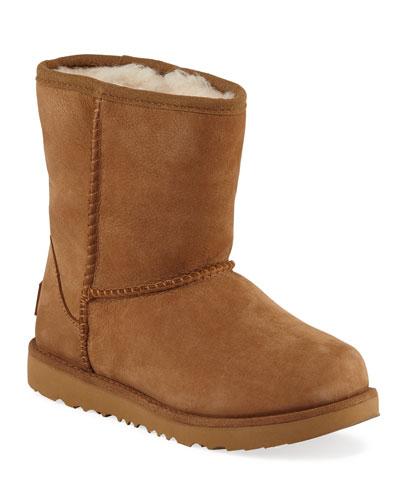 Classic Short II Suede Boots  Kids