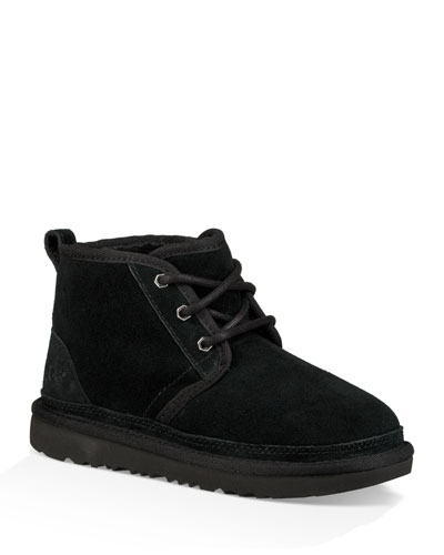 Neumel Suede Lace-Up Boots  Kids