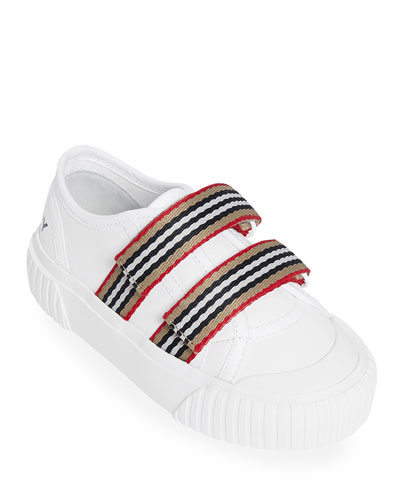 Ray Striped Grip-Strap Low-Top Sneakers  Toddler/Kids
