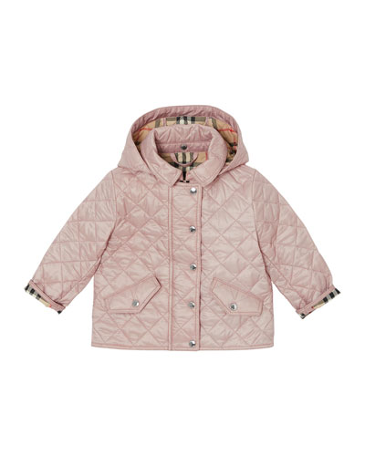 Ilana Quilted Hooded Jacket  Size 6M-2