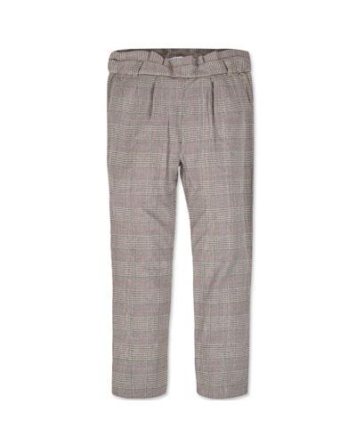 Girl's Straight Leg Plaid Pants  Size 8-16