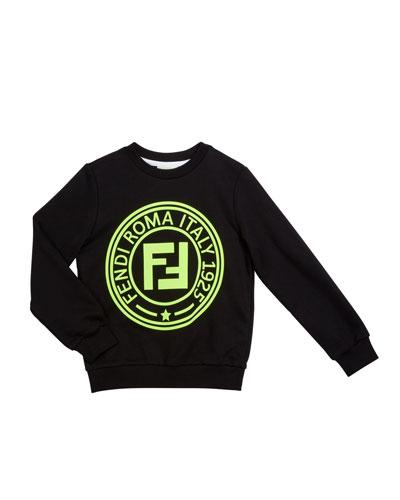 Kid's Logo Sweatshirt  Size 4-14