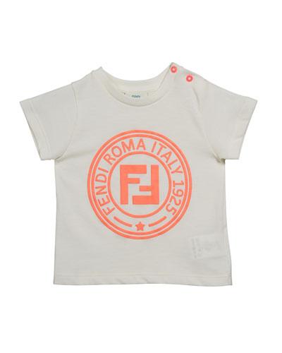 Girl's Short-Sleeve Logo T-Shirt  Size 12-24 Months