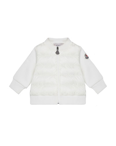 Jersey Quilted Body Cardigan  Size 12M-3