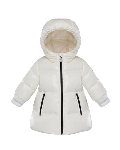 Hooded Puffer Coat  Size 12M-3