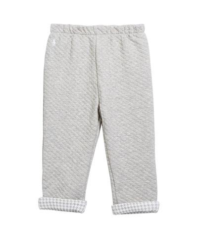 Boy's Diamond Jacquard Sweatpants  Size 6-24 Months