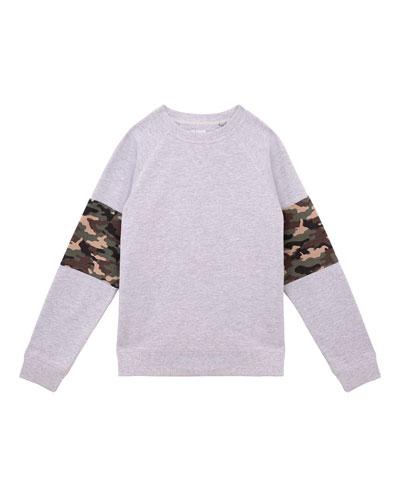 Boys' Zev Crewneck Pullover  Size S-XL