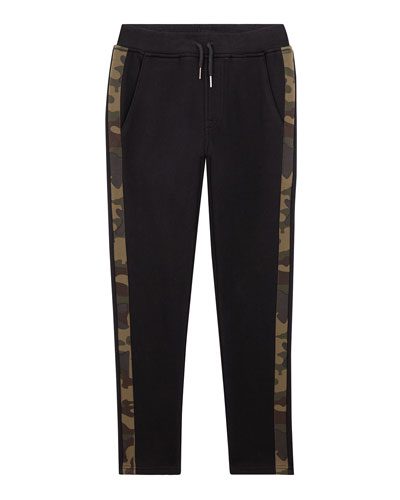 Boys' Russell Camo-Stripe Joggers  Size S-XL