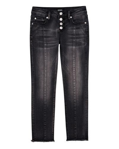 Girls' 5-Pocket Ankle Skinny w/ Front Seams  Size 7-16