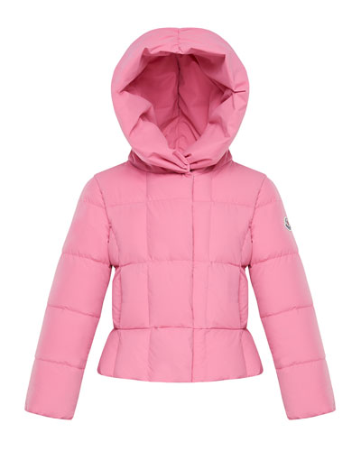 Girl's Giroflee Stretch Tech Hooded Jacket  Size 4-6
