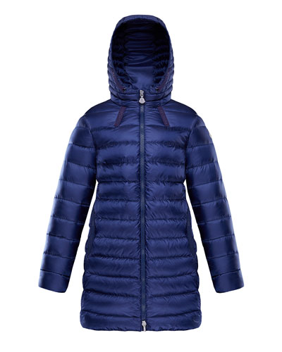 Girl's Jacinte Long Hooded Parka  Size 8-14