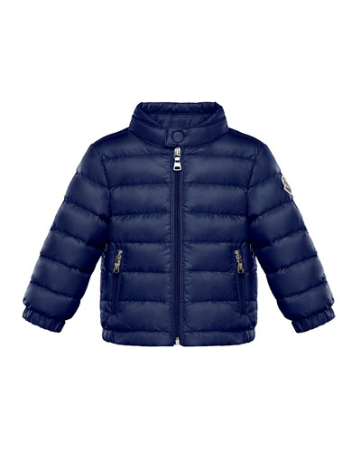 Kid's Acorus Stand Collar Quilted Jacket  Size 9M-3