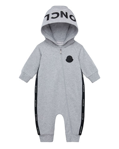 Boy's Logo Hooded Coverall  Size 3-18 Months