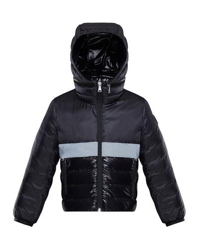 Boy's Verdun Reflective Tape Hooded Jacket  Size 4-6
