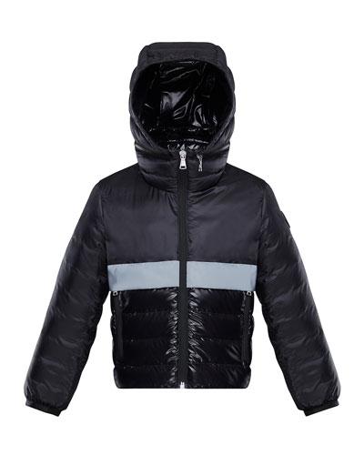 Boy's Verdun Reflective Tape Hooded Jacket  Size 8-14