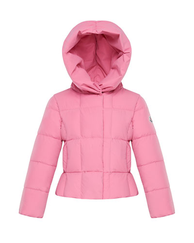 Girl's Giroflee Stretch Tech Hooded Jacket  Size 8-14