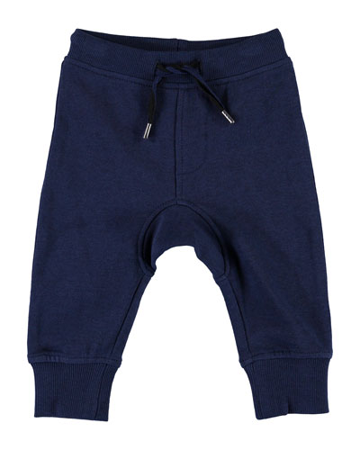 Boy's Stan Solid Drawstring Sweatpants  Size 6-24 Months