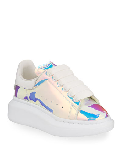 Lace-Up Holographic Sneakers  Toddler/Kids