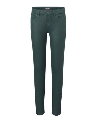 Girl's Chloe Skinny Jeans  Green  Size 7-16