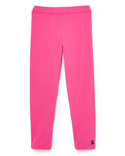 Girl's Emilia Solid Knit Leggings  Size 4-10