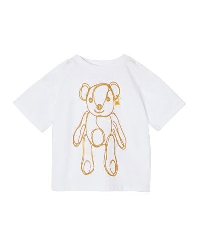 Girl's Chain Bear Graphic Tee, Size 6M-2