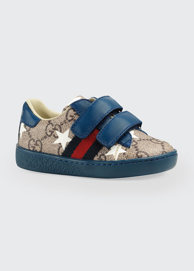 New Ace GG Supreme Stars-Print Sneakers  Baby/Toddler