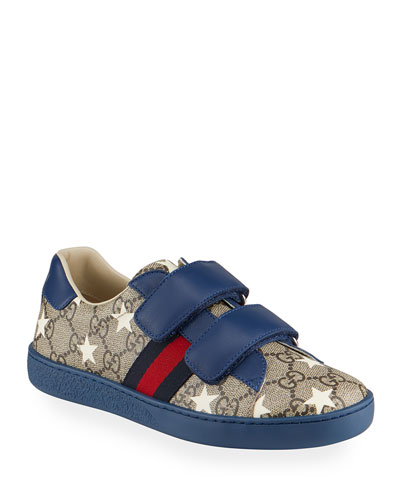 New Ace GG Supreme Stars-Print Sneakers  Kids