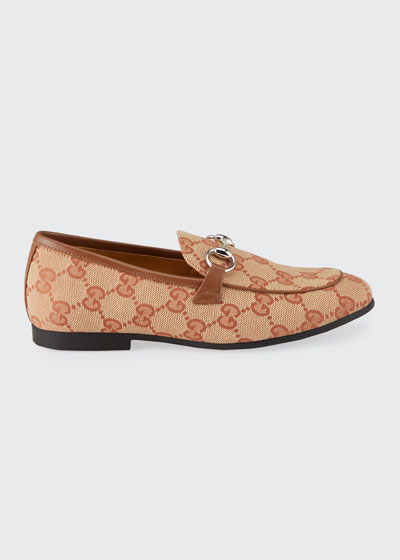 GG Canvas Loafers  Toddler/Kids