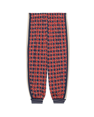 Boy's Allover G Print Jogger Pants  Size 4-12