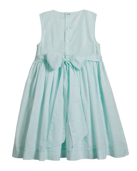 Sleeveless Smocked Dress, Size 2-4T