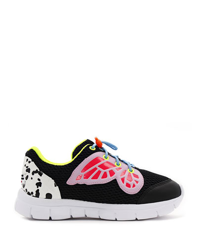 Chiara Mesh Butterfly-Wing Sneakers  Baby/Toddler/Kids